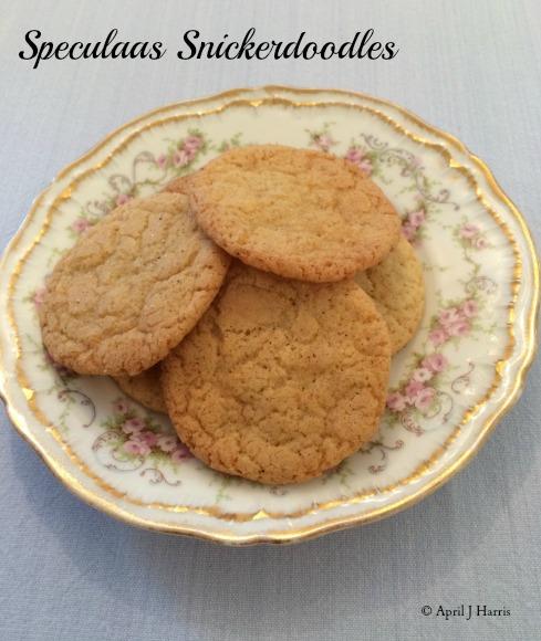 Speculaas Snickerdoodle Cookies