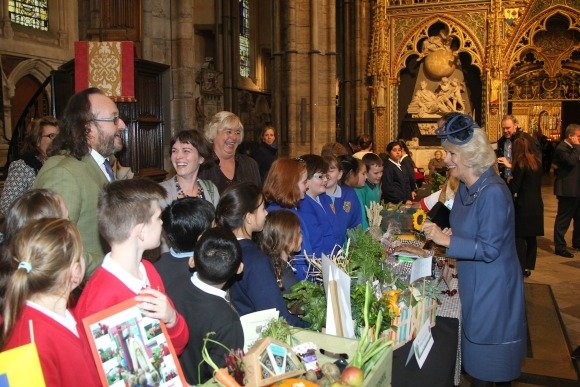 A service to celebrate the Harvest, and British Food Fortnight, was held at Westminster Abbey with HRH The Duchess of Cornwall in attendance. The service was led by The Dean of Westminster, The Very Reverend Dr John Hall.