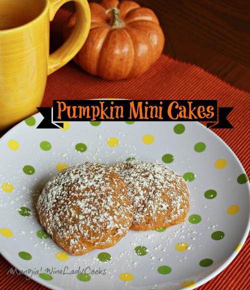 Pumpkin Mini Cakes