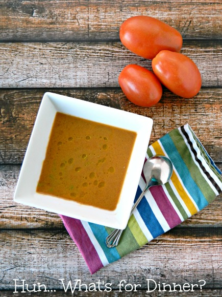 Creamy Roast Tomato Soup Recipe