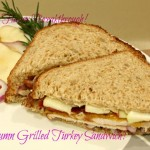 Autumn Grilled Turkey Sandwich