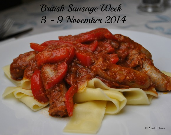 Sausage Recipes for British Sausage Week