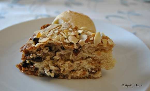 Brandy and Mincemeat Cake on AprilJHarris.com