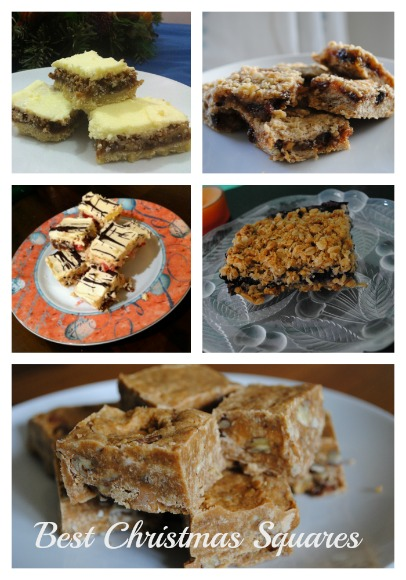 Best Christmas Squares at The Hearth and Soul Hop on AprilJHarris.com