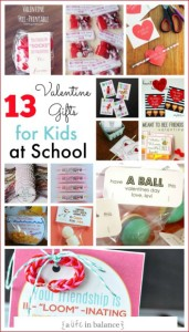 13 Valentine's Gifts for Kids at School