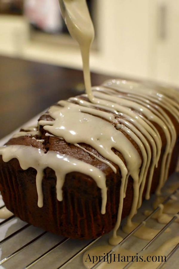 Easy to make, deliciously spiced Banana Gingerbread Loaf Recipe