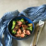 Salmon and Broccoli Stir Fry Recipe