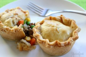 Beef Pot Pies by Yesterfood
