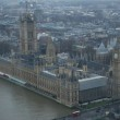 Parliament Buildings seen from The London Eye
