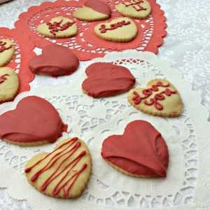 Valentines Cookies from Cooking on A Budget