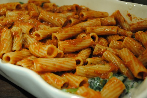 Spinach Florentine Casserole