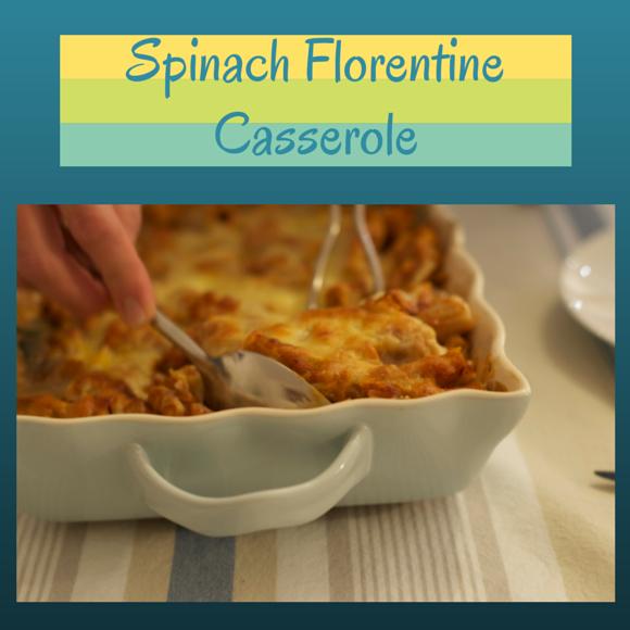 Spinach Florentine Casserole on AprilJHarris.com