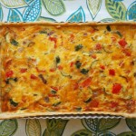 Easy Vegetarian Quiche Recipe