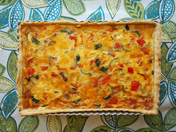 Quick and Easy Vegetarian Quiche
