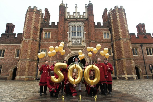 Hampton Court Palace 500th Birthday Celebrations