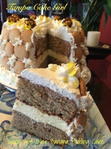 Banana Pudding Cake Tampa Cake Girl