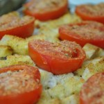 Easy Brie Basil and Tomato Strata Recipe