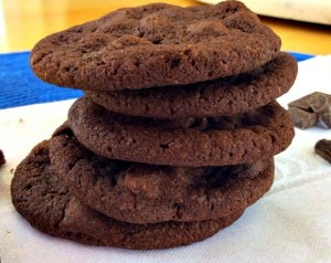 Double Chocolate Chunk Paleo Cookies
