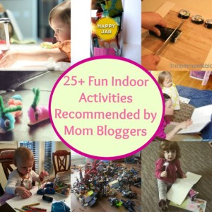 Indoor Activities Collage