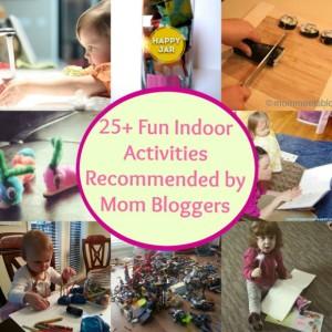 Indoor Activities Collage