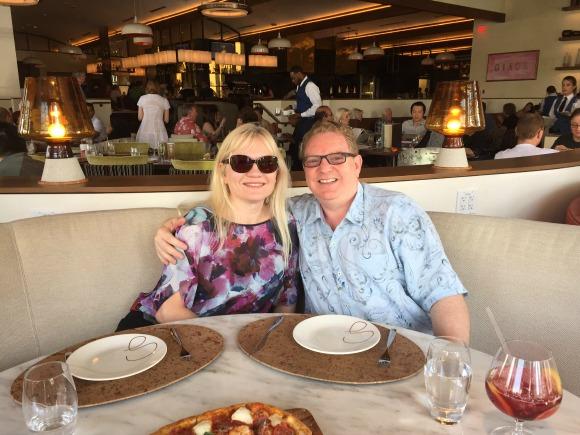 Lunch at Giada Las Vegas