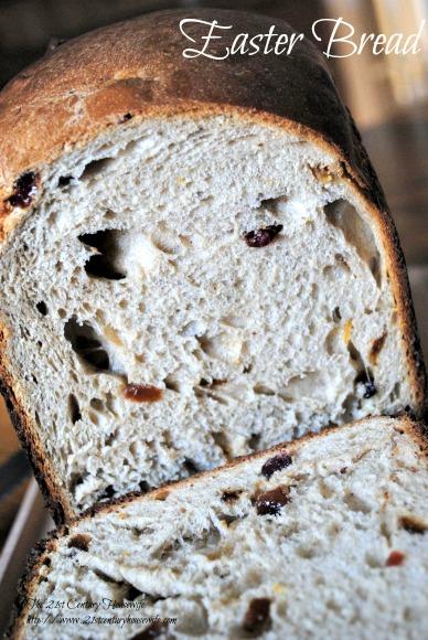 Last Minute Bread Machine Easter Bread