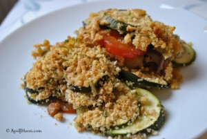 Easy Provencal Vegetable Gratin