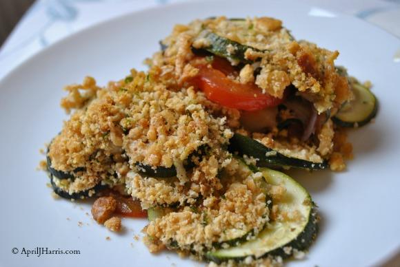 Easy Provencal Vegetable Gratin
