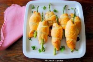 Ham & Asparagus Roll Ups