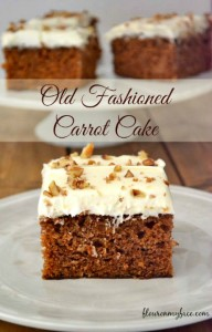 Hearth and Soul Hop Carrot Cake