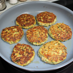 Cauliflower Quinoa Patties at The Hearth and Soul Hop Link Party