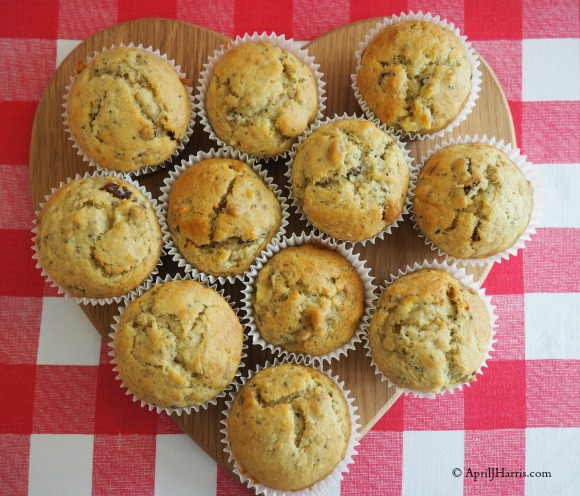 Banana and Chia Seed Muffins Image