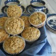 Blueberry Chia Muffins with Lemon and Ginger