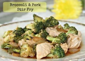 Broccoli & Pork Stir Fry at The Hearth and Soul Hop