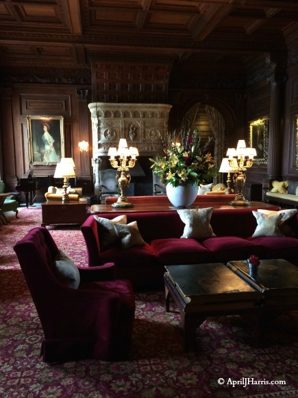 The lounge at Cliveden