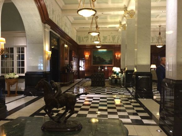 Visiting the Savoy London