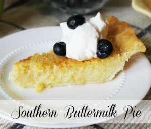 Southern Buttermilk Pie at The Hearth and Soul Hop