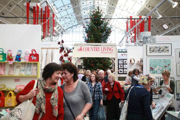 The Country Living Magazine Christmas Fair Ticket Giveaway