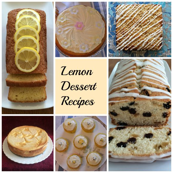 Lemon Dessert Recipes on AprilJHarris.com
