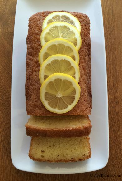 Lemon Drizzle Cake on AprilJHarris.com