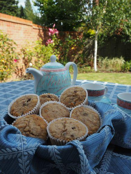 Old Fashioned Oatmeal Raisin Muffins on AprilJHarris.com