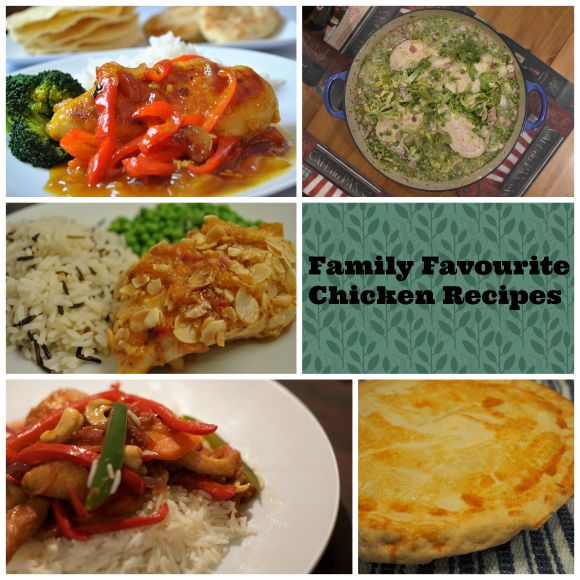 Family Favourite Chicken Recipes on AprilJHarris.com