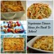 Vegetarian Dinner Ideas for Back to School on AprilJHarris.com