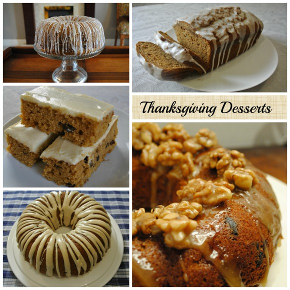 Thanksgiving Dessert Recipes on AprilJHarris.com