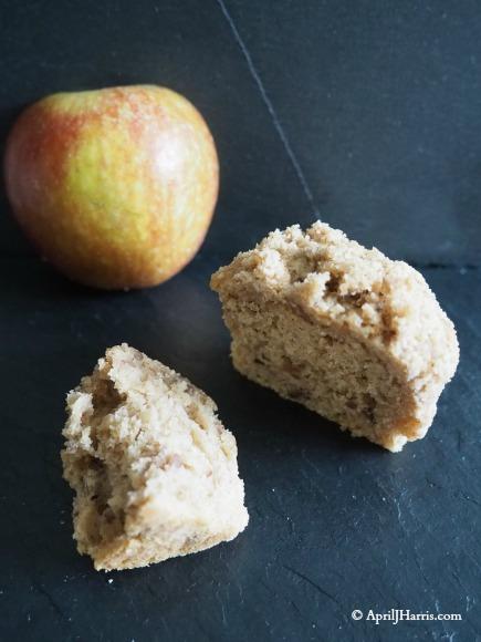 Apple Pear and Pecan Streusel Muffins on AprilJHarris.com