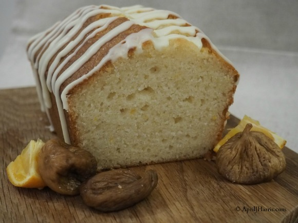 Fig and Honey Yogurt Loaf Cake
