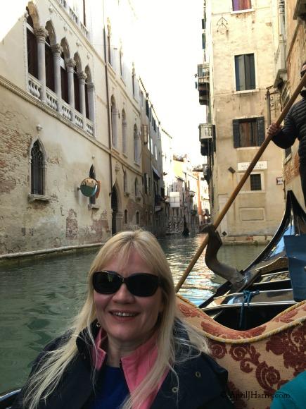 Venice By Gondola on AprilJHarris.com