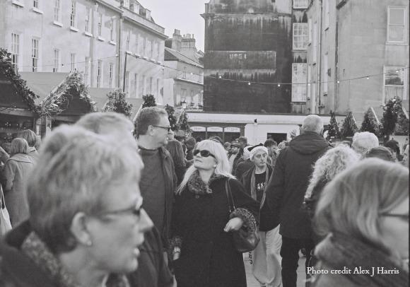 Visiting Bath and The Bath Christmas Market on AprilJHarris.com