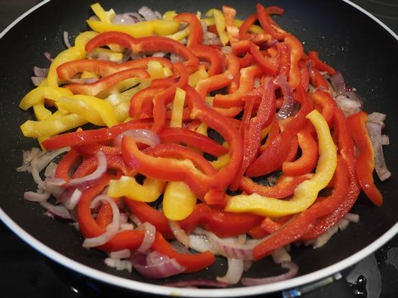 Red Pepper Crostini Topping on AprilJHarris.com