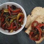 Red Pepper Crostini Topping